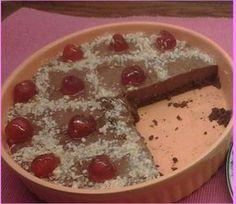 Τάρτα κακάο χωρίς σοκολάτα & ψήσιμο. ~ ΜΑΓΕΙΡΙΚΗ ΚΑΙ ΣΥΝΤΑΓΕΣ Deserts, Pudding, Sweets, Chocolate, Recipes, Food, Pies, Flan, Sweet Pastries