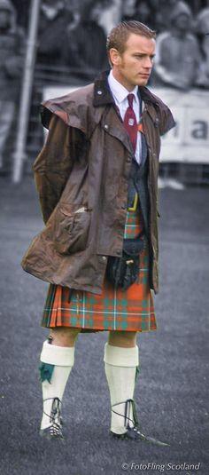 Ewan McGregor - Crieff Games Chieftain by Richard Findlay@FotoFlingScotland