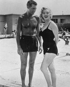Cary Grant et Marilyn Monroe
