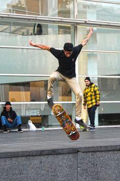 Skaters Barcelona December 2015