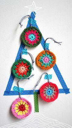 DIY: crochet circles