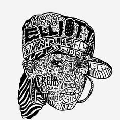 Missy Elliott  #hiphop