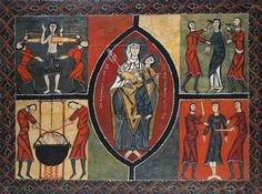Altar Frontal, Durro Church, Vall de Boi, Spain (12th c.)