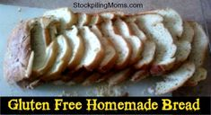 Gluten Free Homemade Bread Machine Bread