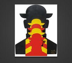 Γαϊτης Γιάννης – Giannis Gaitis [1923-1984]   paletaart - Χρώμα & Φώς Batman, Superhero, Poster, Fictional Characters, Art, Art Background, Kunst, Superheroes, Performing Arts