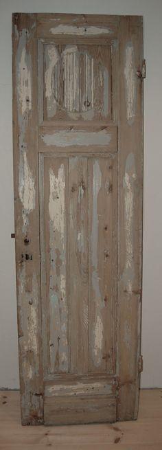 Gaaf voor op de slaapkamer deze oude deur.. Old Wood, Decor, Wood, Old Doors, Shabby Chic Decor, Modern Vintage, Doors, Panel Doors, Gustavian