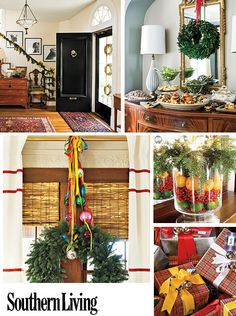 Southern Living Magazine christmas decor...