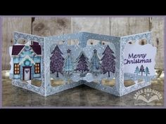 I am not left-handed: Karen Burniston Pop it Ups Designer Challenge - Christmas in July