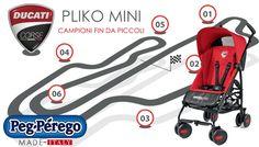 Rimani sempre in pista con #PLIKOMINI #PEGPEREGO ! http://www.bebeconfortsnc.it/passeggini-leggeri/234-peg-perego-passeggino-pliko-mini-ducati.html