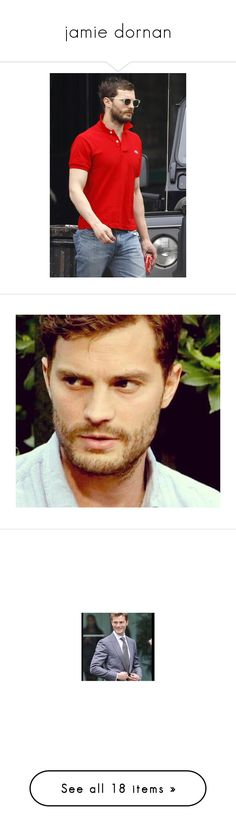 """""""jamie dornan"""" by harybarbosa ❤ liked on Polyvore featuring jamie, jamie dornan, people, home, home decor, once upon a time, actors, accessories, eyewear and sunglasses"""