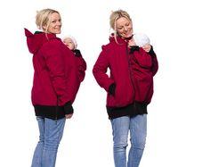 Babywearing coat baby carrier jacket parka by VivalaMamaBerlin