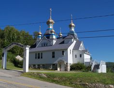Holy Resurrection Orthodox Church, Berlin NH. added in 1979 to the NRHP
