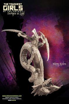 Lust Elves - Worm Riders