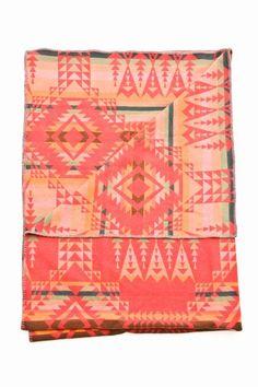 Pendleton blanket -- too bad it's wool :(