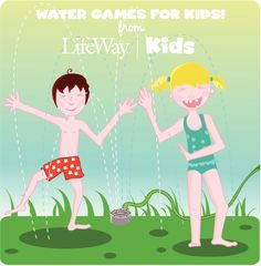 Free printable from Kids Ministry 101 — 5 Activities for a Kids Water Day!