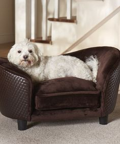 Love This Brown Sofa Lounger Pet Bed By Enchanted Home Pet On #zulily! #