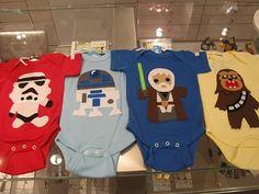 Star Wars onesies