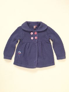 Girls Crochet Jacket by Petit Lem on Gilt.com