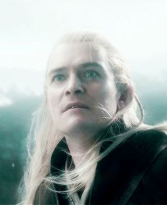 """''Legolas - This is """"I'm going to fuck you up"""" look. Go kick his ass, Leggie. :)''"""
