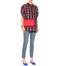 Balenciaga - Plaid cotton shirt - mytheresa.com