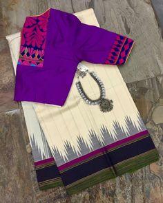 Blouse Neck Patterns, Designer Blouse Patterns, Blouse Neck Designs, Blouse Styles, Sleeve Designs, Dress Patterns, Cotton Saree Blouse, Pattu Saree Blouse Designs, Salwar Designs
