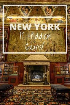 New York, New York! 11 secret sightseeing gems! Morgan Library, Pomander Walk und Paley Park - sind auch für mich neu #newyork