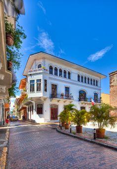 Casco Viejo - Panama City - Panama   This is my favorite building in Casco!