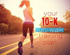 Your 10-K Run-Walk Training Plan