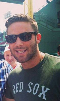 Julian Edelman.  Perfection, a Patriot in Reds Sox clothing.