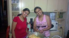 Natal 2012. Fazendo a Salada de Fruta