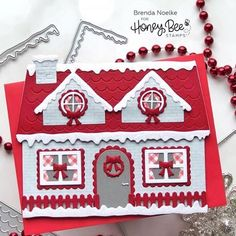 Christmas Paper Crafts, Homemade Christmas Cards, Homemade Cards, Die Cut Christmas Cards, Xmas Cards, Holiday Cards, Card Making Inspiration, Making Ideas, Christmas Inspiration