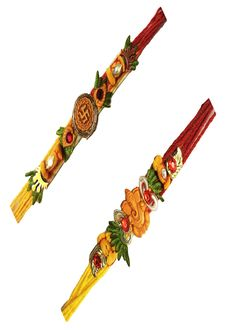 #Auspicious #Collection Of #Rakhi at #Reeturn Favors.