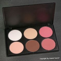 This is a great palette! Blush & Contour  colors are very nice. #Coastal Scents Contour Blush Palette