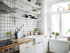 my scandinavian home: A serene Swedish home in white and wood