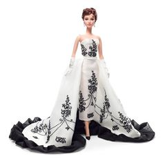 Audrey Hepburn Barbie Sabrina Doll