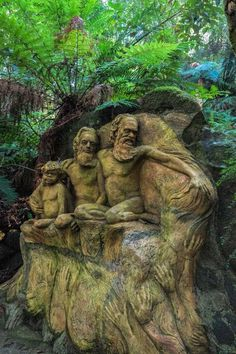 A photo journey through the William Ricketts Sanctuary in the Dandenong Ranges in Victoria, Australia.  via @2aussietravellers
