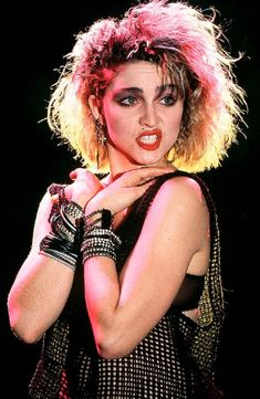 Madonna's hairstyle evolution - some choice 80s dos...
