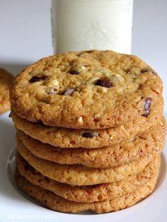 Haselnuss Toffee Chocolat Chip Cookies