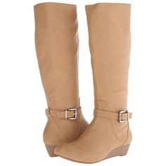 Jessica Simpson Becki Boot Women's Boots, Khaki ($42) ❤ liked on Polyvore