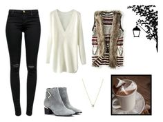 """""""#98"""" by myheartisfeelings ❤ liked on Polyvore featuring Nicholas Kirkwood, maurices, J Brand, Links of London, women's clothing, women's fashion, women, female, woman and misses"""