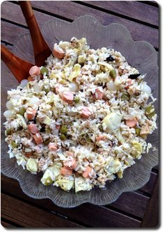 Salade de riz à l'italienne