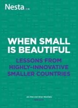 When Small is Beautiful: Lessons from highly innovative smaller countries | Nesta
