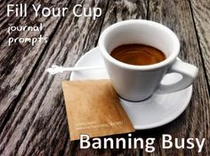 Ban Busy Journal Prompts