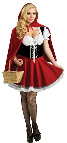Rubies Womenu0027s Plus Size Red Riding Hood Costume Red  sc 1 st  Pinterest & 14 best Plus Size Halloween Costumes images on Pinterest | Halloween ...