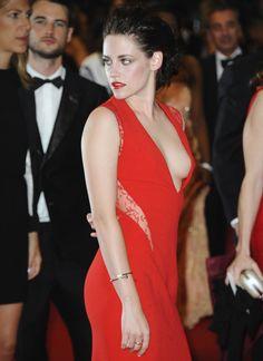 Kristen Stew in Red.