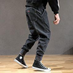 Vertical Striped Shirt, Striped Jeans, Denim Jeans, Cargo Pants, Jogger Pants, Men Pants, Cheap Mens Fashion, Men Fashion, Fashion Shoes