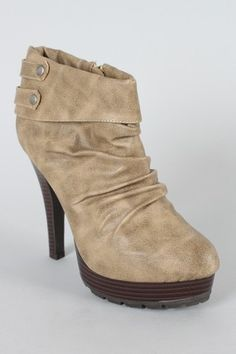 Ruched Ankle Boot, boot boot boot, I love boot