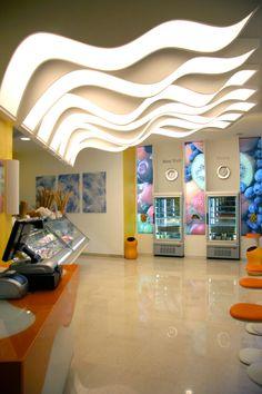 Il Gelato Perrucci, bar-gelateria di Cerignola Milk Shop, Architecture, Bed, Roof Top, Furniture, Gelato, Restaurants, Public, Home Decor