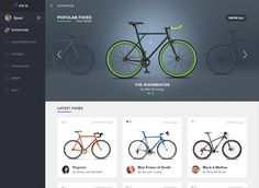 Customize your fixed gear bike with FIX'D http://www.obeymagazine.com/customize-fixed-gear-bike-fixd/