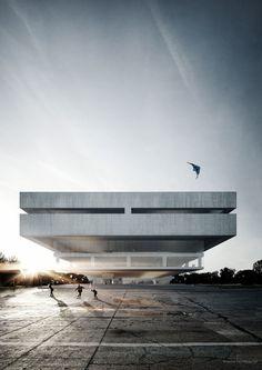 KohlmayerOberst Architekten, Glück Landschaftsarchitektur · Zentral und Landesbibliothek Berlin · Divisare